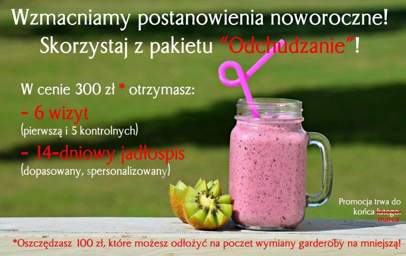 Promocja noworoczna - dietetyk poznań