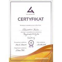 Sławomir Kula - Dietetyk Poznań - Certyfikat Szkolenie Psychodietetyka i Coaching