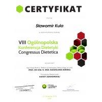 Sławomir Kula - Dietetyk Poznań - VIII Ogólnopolska Konferencja Dietetyki Congressus Dietetica